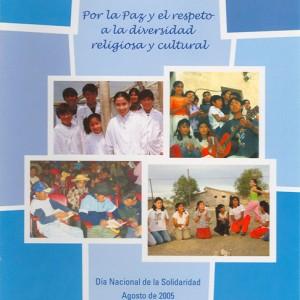 Parlamento de escuelas. Por la paz y el respeto a la diversidad religiosa y cultural
