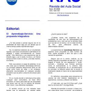 El Aprendizaje-Servicio: Una propuesta integradora